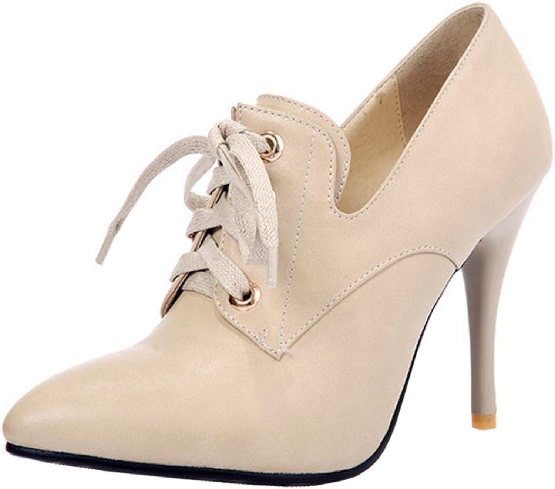 Melady Women Stiletto Heels Pumps Pointed Toe