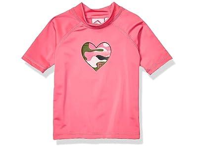 Kanu Surf Karlie UPF 50+ Sun Protective Rashguard Swim Shirt (Little Kids/Big Kids)
