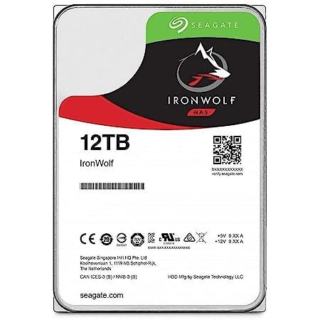 Seagate Ironwolf 12 Tb Hdd Nas Interne Festplatte 3 5 Computer Zubehör