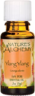NATURE'S ALCHEMY Pure Essential Oil Ylang Ylang 0.5 OZ