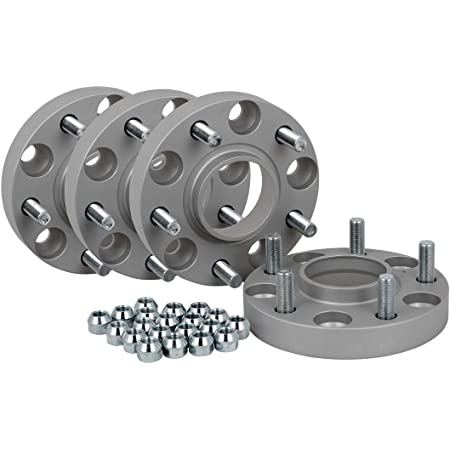Spurverbreiterung Aluminium 4 Stück 20 Mm Pro Scheibe 40 Mm Pro Achse Inkl TÜv Teilegutachten Auto