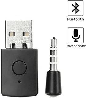 VAKABOX Wireless Adapter 4.0 +EDR Dongle Receiver USB Adapter for PS4 Wireless Headset