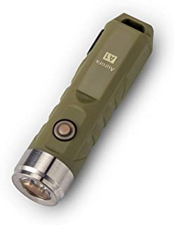 Sponsored Ad – RovyVon Aurora A1x LED Keyring Torch, Max 650 Lumen Super Bright with Mini Size, USB Rechargeable Flashligh...