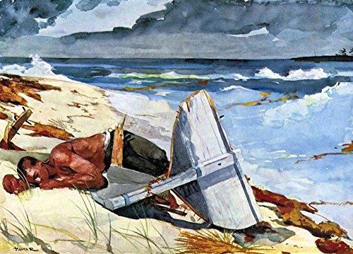 Das Museum Outlet–Nach der TORNADO von Winslow Homer–Poster Print Online kaufen (101,6x 127cm)