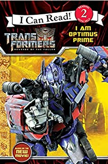 I Can Read! Transformers Revenge of The Fallen I Am Optimus Prime (I Can Read: Level 2)