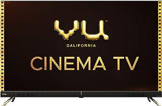 Vu 108 cm (43 inches) 4K Ultra HD Cinema Android Smart LED TV 43CA (Black)   With 40W Front Soundbar
