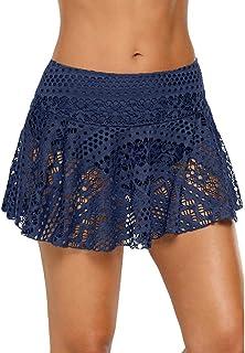 6c97487af0 Plage Mode Pantalons Roche Femme Eté Beach Sport Short Mini Jupe Taille  Haute Short De Bain