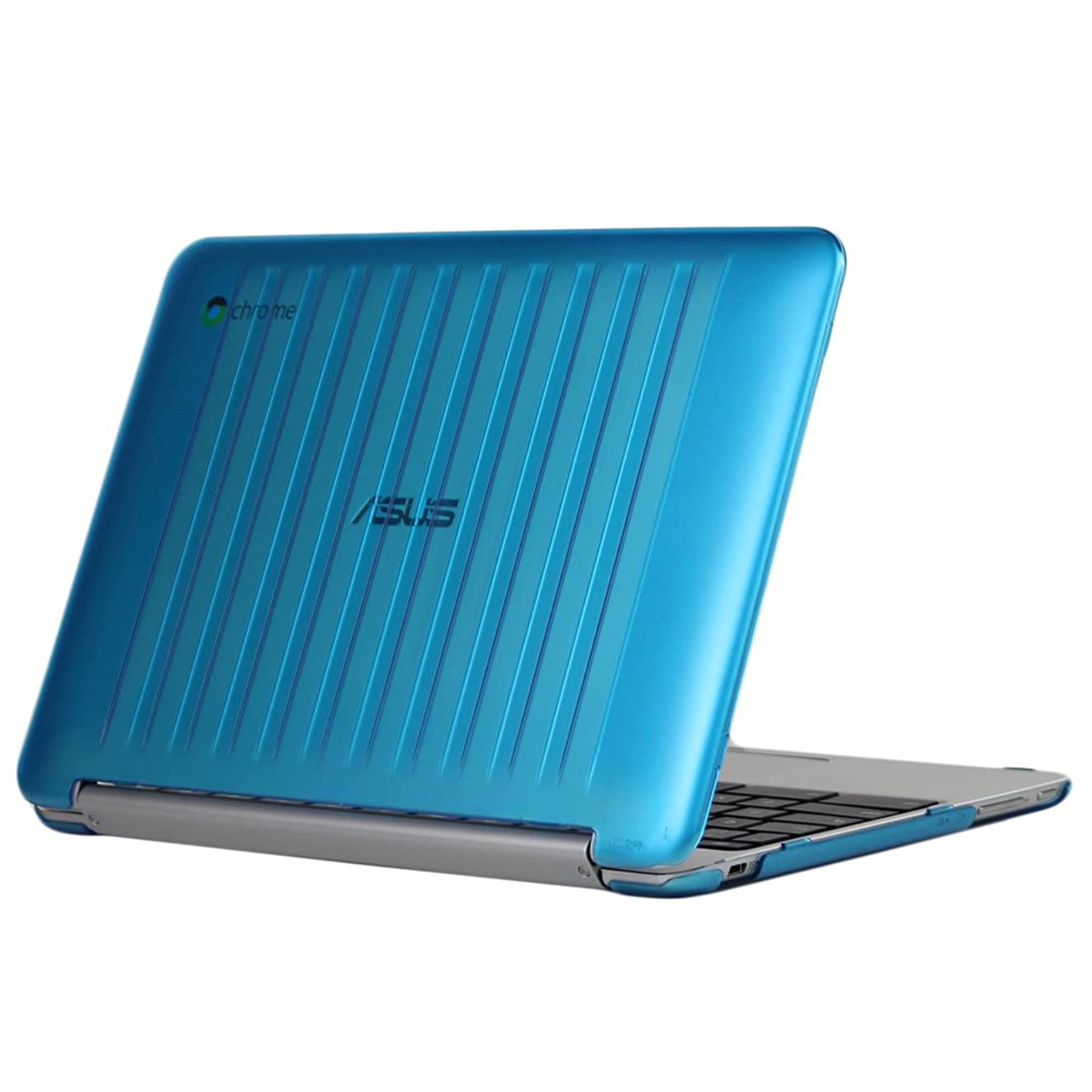 iPearl mCover Hard Shell Case for 10.1-inch ASUS Chromebook Flip C100PA Series Laptop (Aqua)