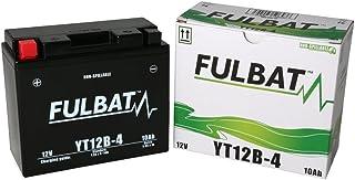 Batería FULBAT YT12B-4 12V 10Ah 175A Largo: 150 x Ancho: 69 x Alto 130 (mm)