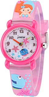 MyRalice Kids Time Teacher Watches 3D Cute Cartoon Silicone Children Toddler Wrist Watch Gift for 3-7 Year Old Boys Girls Little Child