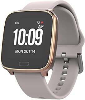 Active Smartwatch with Heart Rate, Notifications and Activity Tracking