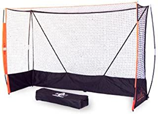 Bow Net Portable Indoor Field Hockey Net, 6-Feet 6-Inch x 9-Feet 9-Inch x 3-Feet 3-Inch