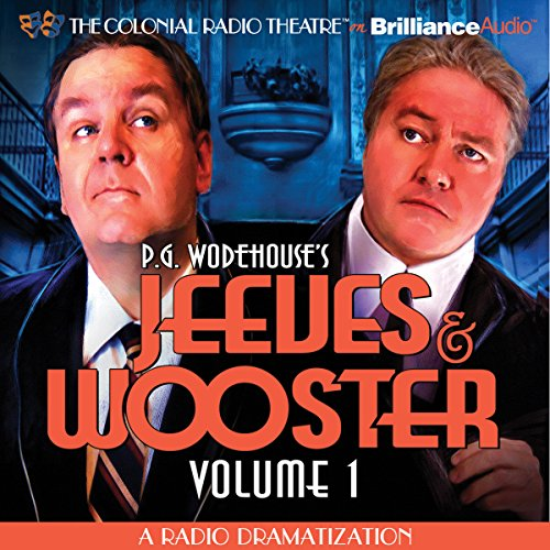 Jeeves and Wooster, Vol. 1 audiobook cover art