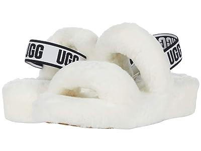 UGG Oh Yeah Slide (White) Women