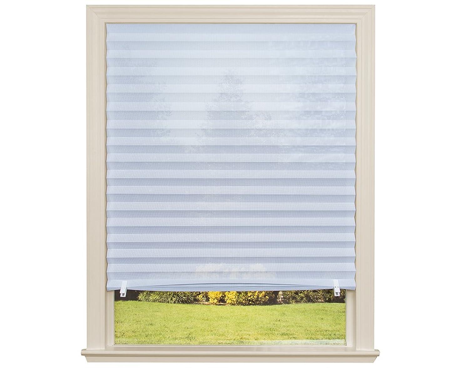 Redi Shade 3607899 Sheer View UV Blocking Solar Fabric Shade White, 36