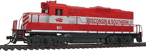 Spur-hO uS diesellok gP9M wisconsin & southern