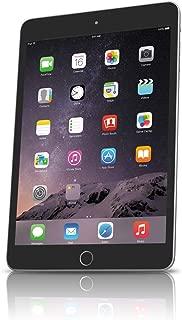 Apple iPad mini 3 MH3L2LL/A (128GB, Wi-Fi + Cellular, Space Gray) 2014 Model (Renewed)