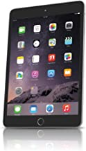 Apple iPad mini 3 MH372LL/A (64GB, Wi-Fi + Cellular, Space Gray) 2014 Model (Renewed)