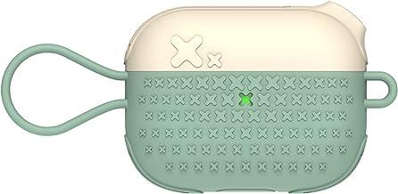 Andoer Capas de silicone para fones de ouvido compatíveis com airpods Pro Capa protetora de três gerações Capa protetora a...