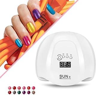 Función de lámpara inteligente, secador de esmalte de uñas 54 W SUN X UVL para esmalte de uñas, sensor inteligente, abrillantador de la UE.