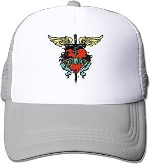 Cool Bon Jovi Rock Trucker Cap Baseball Hat (5 Colors)