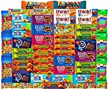 Ultimate Healthy Snacks Bars and Nuts Variety Pack Gift Snack Box - Bulk Sampler (Care Package 53...