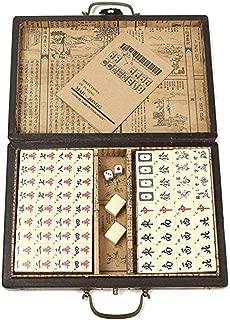 Ray-Velocity Chinese Mahjong Game Set 144 Tiles (Mahjongg, Mah-Jongg, Mah Jongg, Majiang)-LongFeng