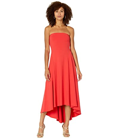 Susana Monaco Strapless High-Low Dress