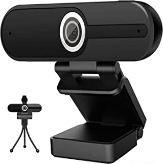 4K Webcam with Microphone Computer Camera 8MP USB Webcam 1080P for Video Calling, Conference, Streaming, Webcam with Priva...