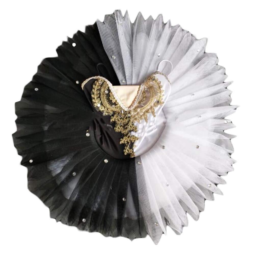 Baile de Ballet para niños Disfraces de Baile de Cisne en Blanco y ...