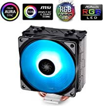 DeepCool RGB CPU Cooler 4 Heatpipes 120mm RGB Fan Universal Socket Solution Cooling GAMMAXX GTE