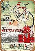 Western Flyer Bicycles ティンサイン ポスター ン サイン プレート ブリキ看板 ホーム バーために
