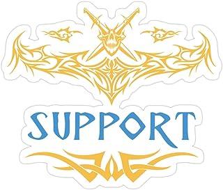 Jess-Sha Store 3 PCs Stickers League of Legends - Support, League of Legends Sticker for Laptop, Phone, Cars, Vinyl Funny ...