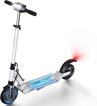 urbetter Patinete Eléctrico Adultos Scooter 30 km de autonomía Plegable Patinete Eléctrico E-Scooter Batería 350W, S1