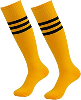 cbe247082947 Amazon.com  Yellow - Socks   Men  Sports   Outdoors