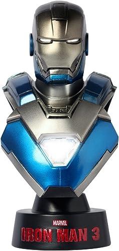 Hot toys Iron Man 3 1 6 Buste Mark XXX Blau Steel