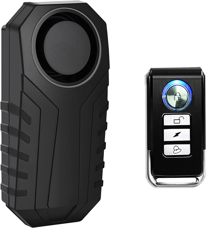 USUPERINK 5 ☆ popular Bike Alarm with Remote Very popular Anti-Theft 113dB Vibr Wireless