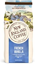 New England Coffee French Vanilla Medium Roast Ground Coffee 11 oz. Bag