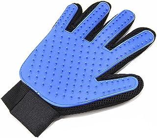 Pet Hair Remover Glove - Magic Pet Grooming Glove Brush - Efficient Deshedding Mitt - for Dogs Cats Horses - Long & Short ...