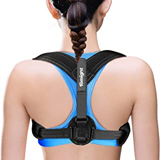 Back Posture Corrector for Women & Men,Tomight Adjustable Back Brace for Improving Posture-Clavicle Support for Slouching ...