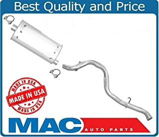 100% New Exhaust Muffler System for Jeep Wrangler 2.5 & 4.0 97 to 01/23/2000
