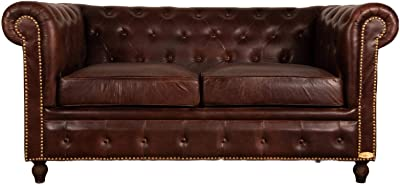 The Chesterfield Brand - Sofá Chester Brighton Rojo - 3 ...