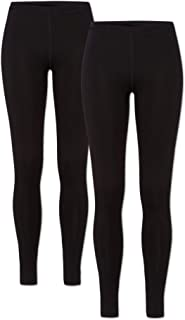 ORIGINAL BASICS Damen Thermo Leggings 1-3 Pack mit Innenfleece