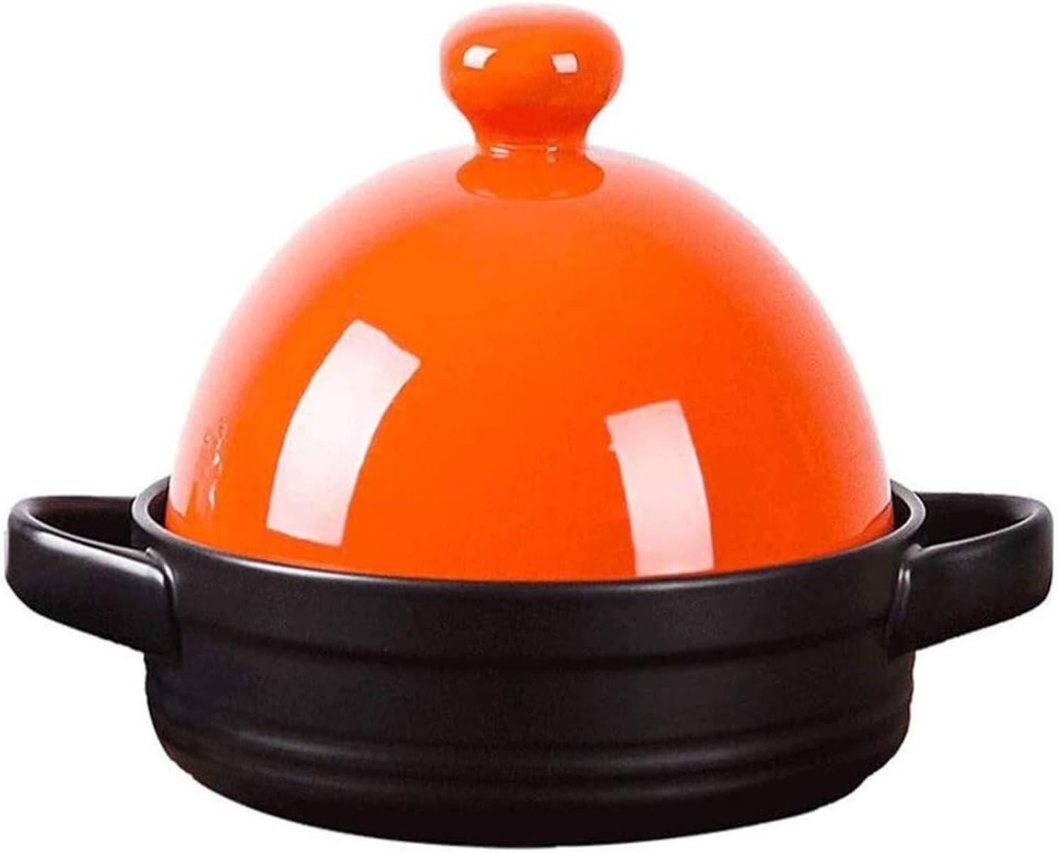 Clay Pot Earthen Ceramic Cookware Cast 5 ☆ Max 71% OFF popular Classic Roun Enameled