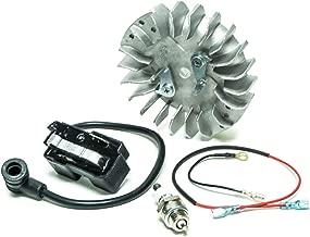 Ignition Coil Flywheel Spark Plug for Husqvarna 359 365 371 372 372XP 385 390