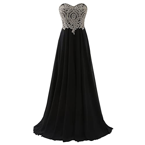 80a16f0f86ad1 Black and Gold Long Dress: Amazon.com