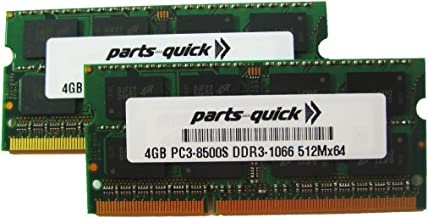 8GB Kit 2X 4GB Memory for MSI Motherboard 790GX-G65 Winki Edition DDR3-8500 NON ECC DIMM RAM (PARTS-QUICK BRAND)