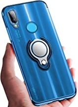 Sponsored Ad - ATUSIDUN Case for Huawei P20 lite Thin Clear TPU Soft Protection Cover with Shock-Absorption 360° Rotating ...