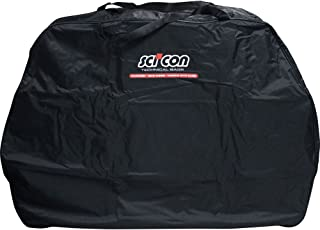Scicon Travel Basic - Bolsa de ciclismo, color Negro, 130 x