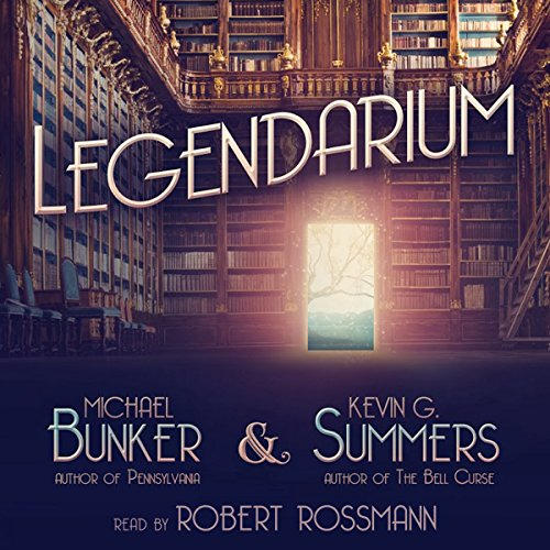 Legendarium audiobook cover art